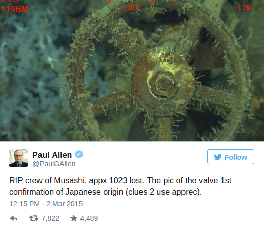 US billionaire says WWII Japanese ship found in Philippines Business Insider