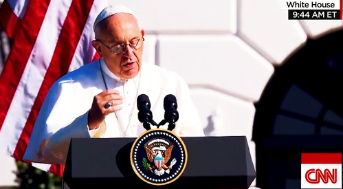 GOT JESUS? POPE FRANCIS PREACHES GOSPEL OF CLIMATE CHANGE AND ILLEGAL IMMIGRATION