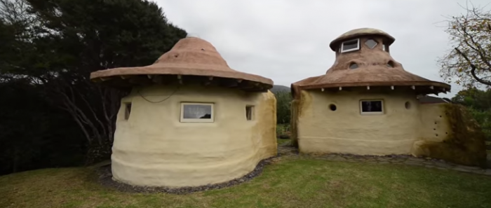 Man Builds 2 Earth Dome Cabins For Less Than $10,000