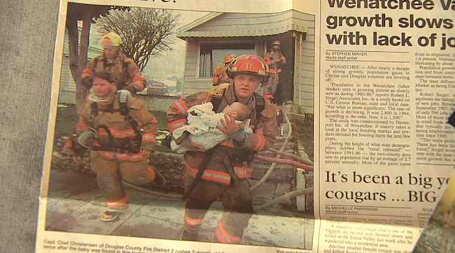 This Fireman Saved A Little Girl….This Is What She Did 17 Years Later