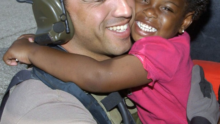 Veteran Finally Finds the Girl He Rescued After Hurricane Katrina