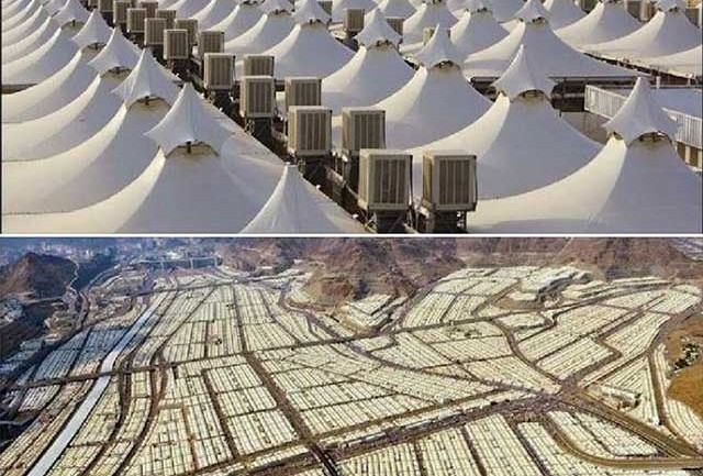 This Giant Saudi Arabian Tent Camp is Empty