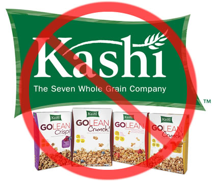 Kellogg's Kashi Cereal Found To Be Full of GMO's