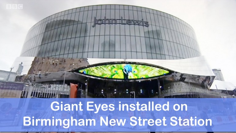 UK City Installs 'Giant Eyes' To Spy On Citizens; Public Thinks It's A Great Idea