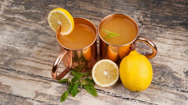 The Health Benefits Of Drinking Out Of A Copper Cup