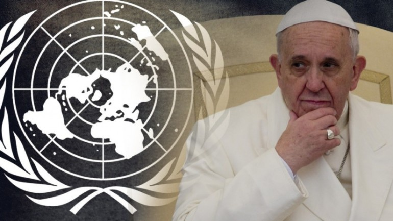 THE UNITED NATIONS PROPHECY BOMB POPE FRANCIS DROPPED THAT NOBODY CAUGHT