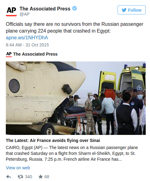 UPDATE ~ Russian Airplane Kolavia Flight 7K9268 %C2%BB-Islamic-State-Claims-to-have-Shot-Down-Russian-Airliner-over-the-Sinai-Alex-Jones-Infowars-There-s-a-war-on-for-your-mind-