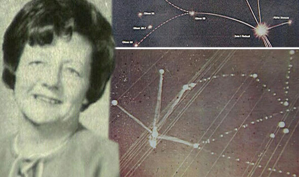 'Abducted' Woman Draws Star Map of Exact Constellation of Alien Home