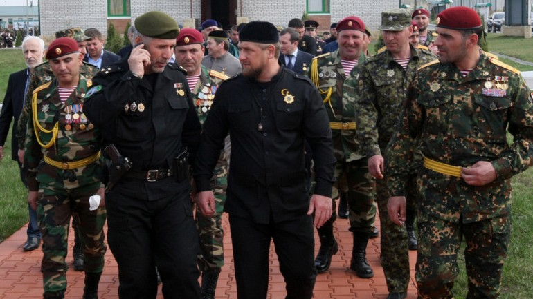 Kadyrov Head of the Chechen Republic Asks Putin to Allow Chechen Infantry to Fight in Syria