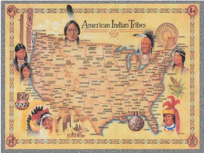 Celebrating-Genocide-–-Christopher-Columbus-Conquest-of-America-Map-of-North-American-Indian-Tribal-Territories-at-the-time-of-Columbus-Arrival