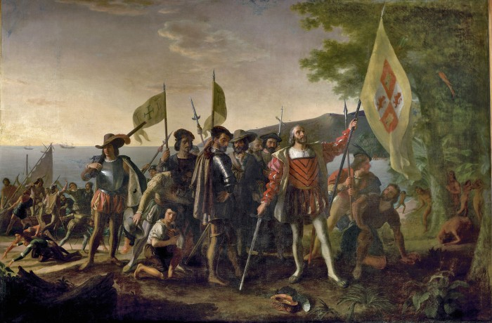 Celebrating-Genocide-–-Christopher-Columbus-Conquest-of-America-The-Landing-of-Columbus