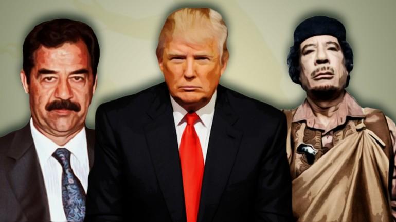 Donald Trump: Saddam Hussein and Gaddafi Made the World Safer