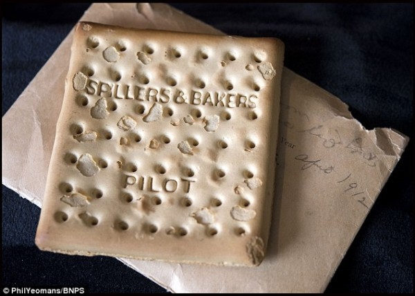 Unsinkable Titanic Biscuit Sells for $23K at Auction 103 Years Later