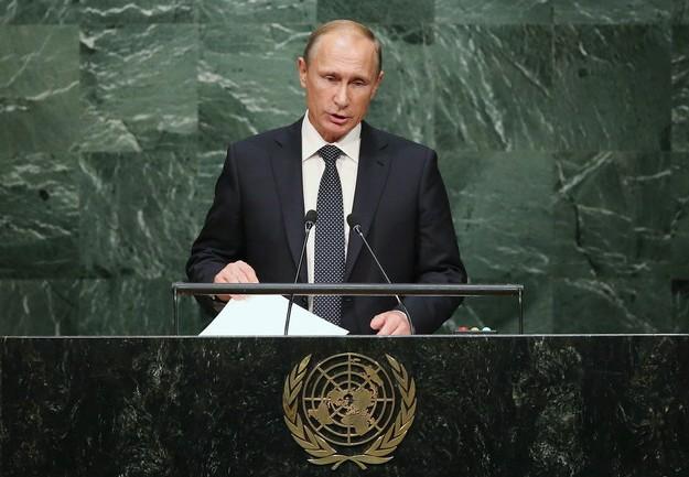 "Vladimir Putin Says The United States Is ""Dangerously"" Undermining World Order"