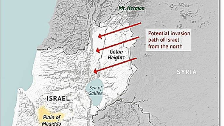 Russia will Attack Israel in the Golan Heights
