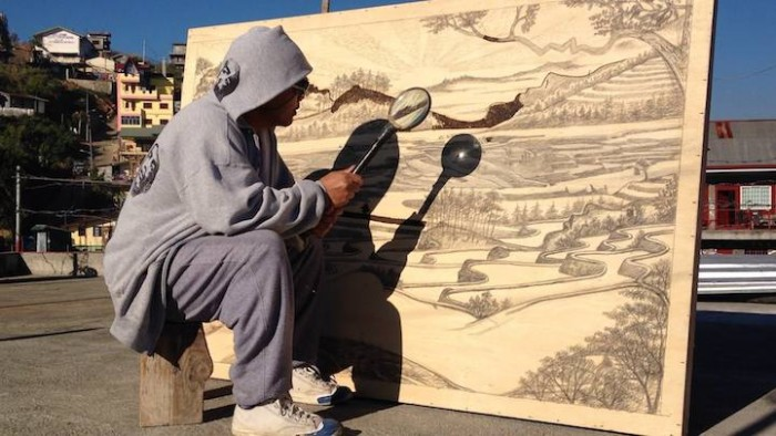 Artist Uses the Sun to Create Stunning Paintings