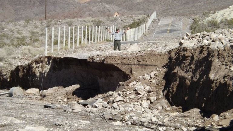 Severe Flash Flooding Left Death Valley National Park Looking Like This….