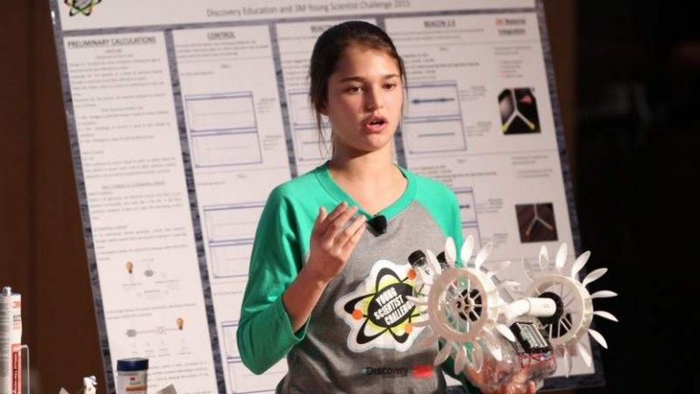 15 YEAR OLD DEVELOPS A SYSTEM THAT PRODUCES ELECTRICITY FROM OCEAN CURRENTS