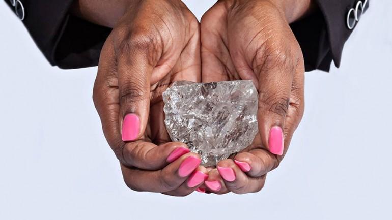 Biggest Diamond in 110 Years Found in Botswana