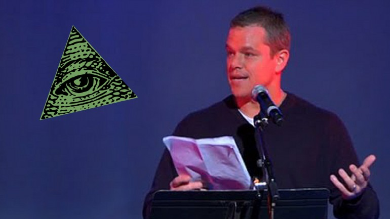 Matt Damon gives SHOCKING Speech on Global Elite calling for Global Disobedience