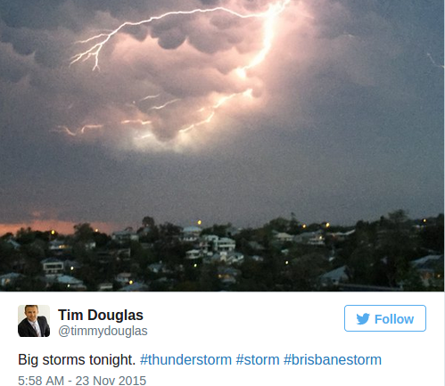 Freaky Lightning Strikes in Australia Surely Herald the End of Days