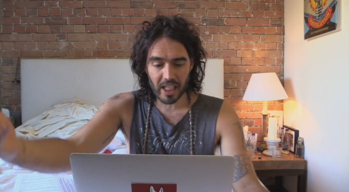 In 2 Minutes Russell Brand Gives The Solutions To Terrorism