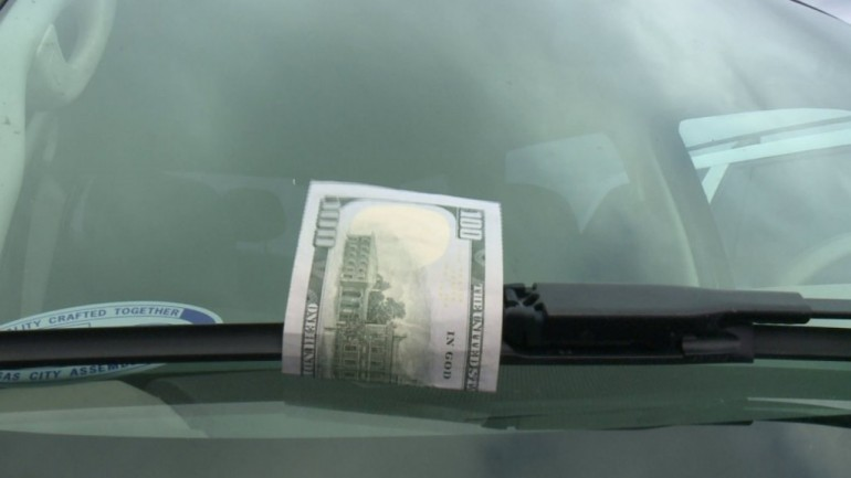 If You See This On Your Parked Car, It's Not Good Luck. It's Deadly