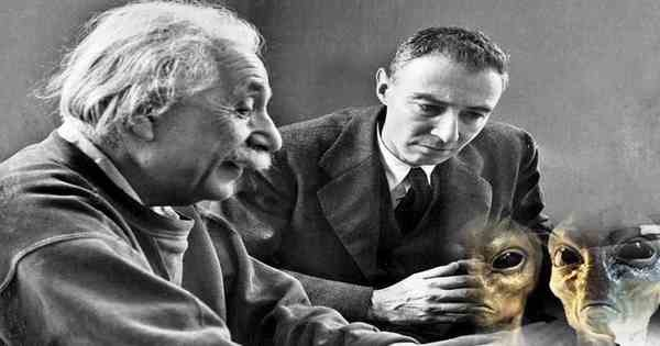 Einstein And Oppenheimer Wrote A Secret Document About UFOs And Aliens