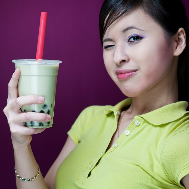 So cool with Bubble Tea