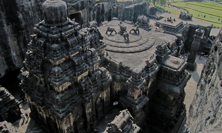 This Insane Indian Temple Was Carved Out Of One Giant Rock
