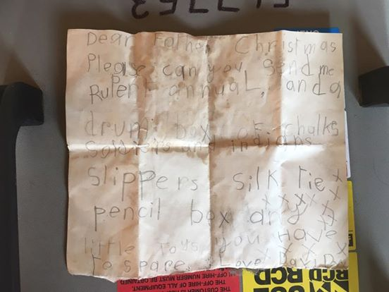 Construction Worker Finds Decades Old Letter in Chimney. What Surprises Him Most are the Requests