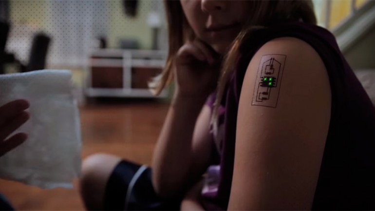 Biometric Tattoos Raise The Bar in Wearable Technology