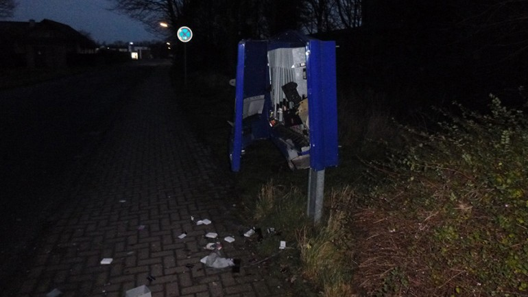 Man Dies in Condom Machine Robbery