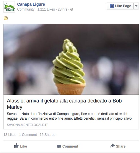 IcyHigh Italian city launches cannabis ice cream in honor of Bob Marley RT News