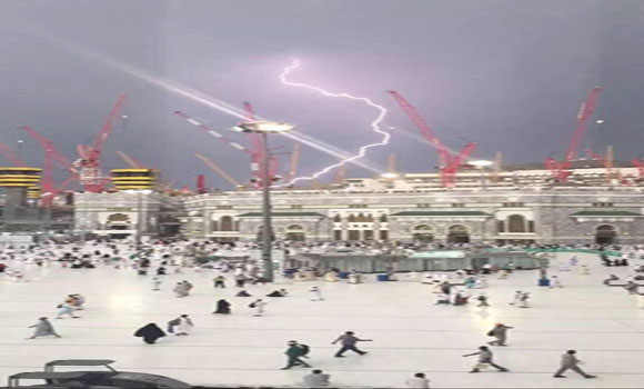 Is-It-Just-A-Coincidence-Lightening-strikes-Mecca-They-heard-HAARPS