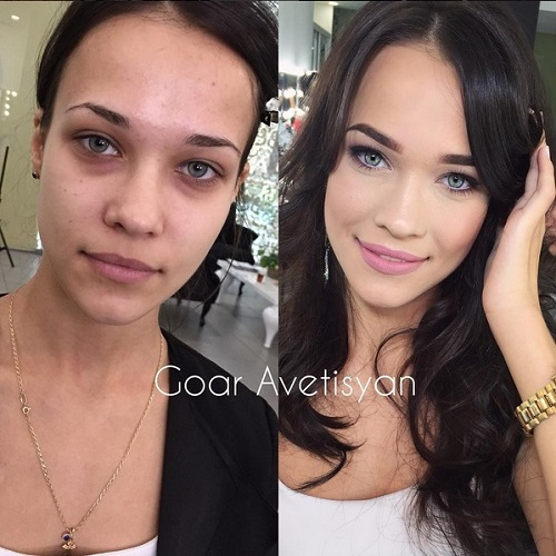 Never Trust A Woman In Make-Up! The Reason Is These 28 Unbelievable Photos. (11)