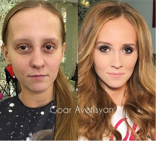 Never Trust A Woman In Make-Up! The Reason Is These 28 Unbelievable Photos. (13)