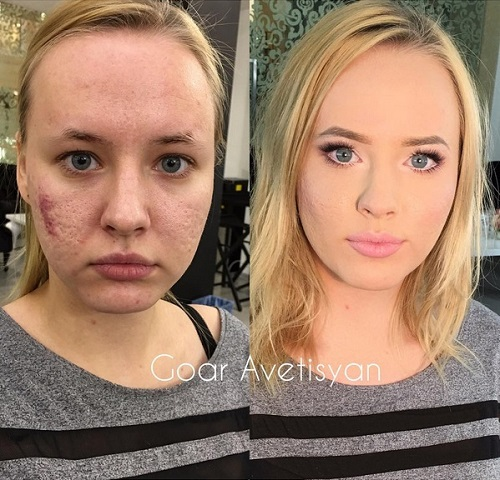 Never Trust A Woman In Make-Up! The Reason Is These 28 Unbelievable Photos. (14)