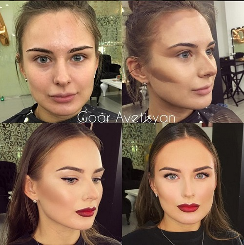Never Trust A Woman In Make-Up! The Reason Is These 28 Unbelievable Photos. (16)