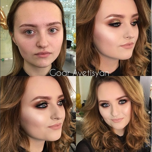 Never Trust A Woman In Make-Up! The Reason Is These 28 Unbelievable Photos. (17)