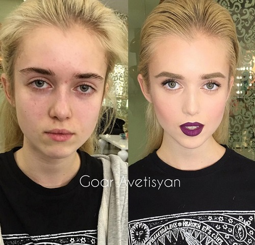 Never Trust A Woman In Make-Up! The Reason Is These 28 Unbelievable Photos. (24)