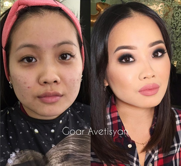Never Trust A Woman In Make-Up! The Reason Is These 28 Unbelievable Photos. (27)