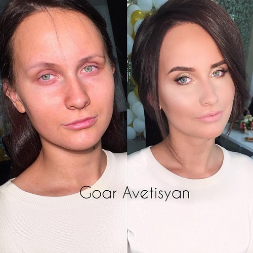 Never Trust A Woman In Make-Up! The Reason Is These 28 Unbelievable Photos. (4)