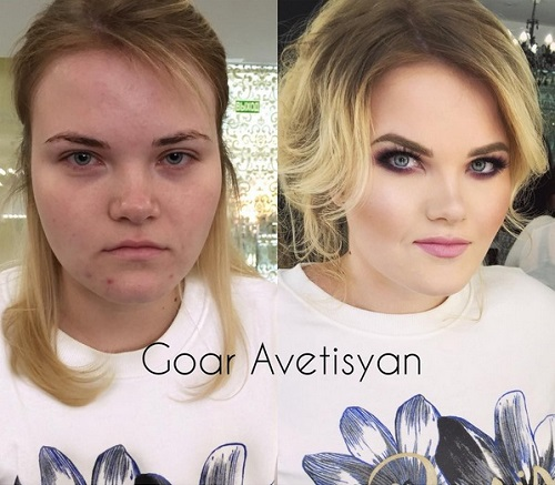 Never Trust A Woman In Make-Up! The Reason Is These 28 Unbelievable Photos. (7)
