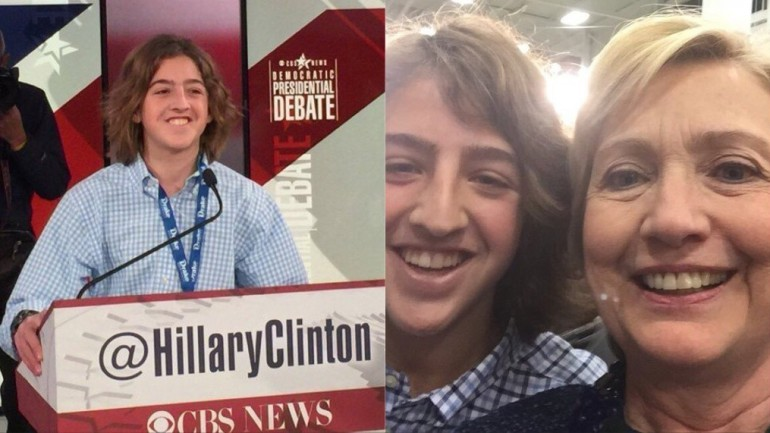 14-Year-Old Warns Politicians What Their Future Might Look Like If They Don't Heed His Message