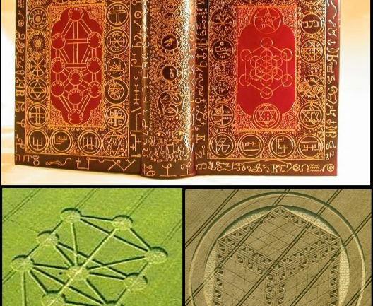 Alchemy and Kabbalah Universal Alien Font