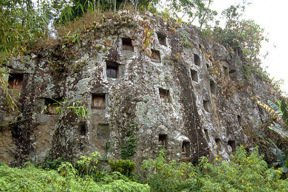 Tana Toraja Indonesia  city photo : Tana Toraja cliff burial 2 570x380