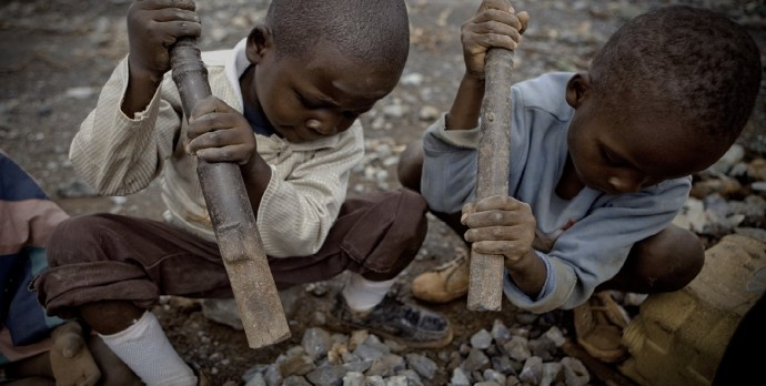 7 Year Old Children Mining Cobalt for Apple, Microsoft, and Samsung Products