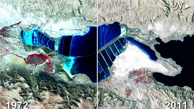 Biblical Giant Body Of Water Is Mysteriously Disappearing