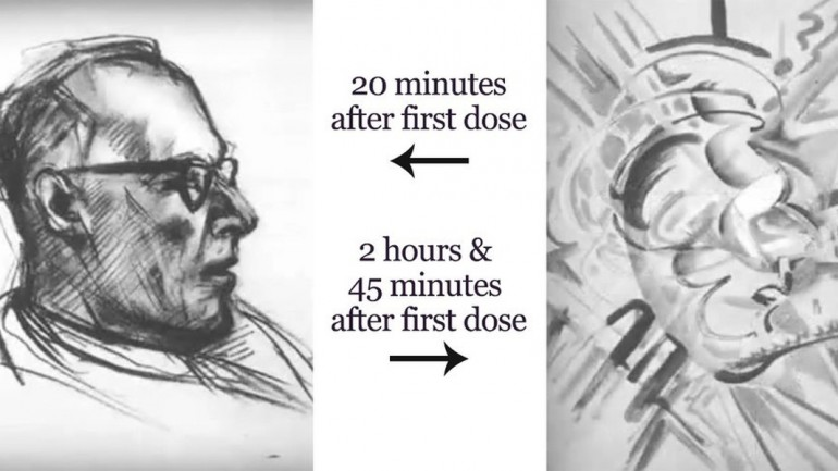 This Is What Happens When An Artist Takes LSD